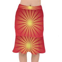 Sunburst Sun Mermaid Skirt