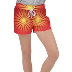 Sunburst Sun Women s Velour Lounge Shorts