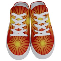 Sunburst Sun Half Slippers
