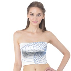 Spirograph Pattern Drawing Tube Top