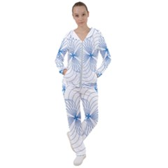 Spirograph Pattern Drawing Women s Tracksuit