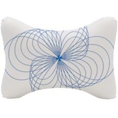 Spirograph Pattern Drawing Seat Head Rest Cushion