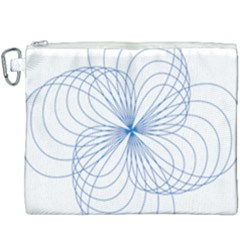 Spirograph Pattern Drawing Canvas Cosmetic Bag (xxxl)