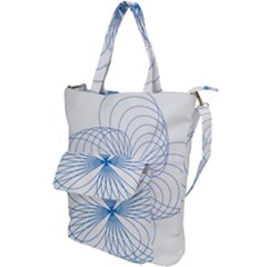 Spirograph Pattern Drawing Shoulder Tote Bag