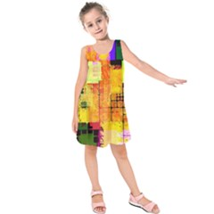 Too Square, Don t Care  Kids  Sleeveless Dress