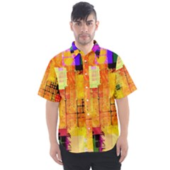 Too Square, Don t Care  Men s Short Sleeve Shirt