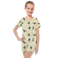 Bird Is The Word Kids  Mesh Tee And Shorts Set