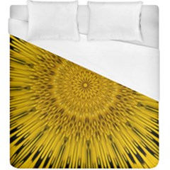 Pattern Petals Pipes Plants Duvet Cover (king Size)