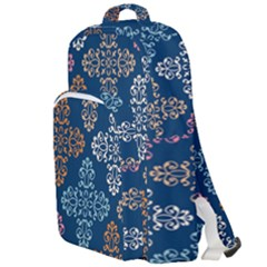 Wallpaper Abstract Art Double Compartment Backpack