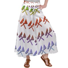 Yard Work Gardening Landscaping Satin Palazzo Pants