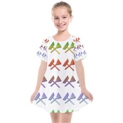 Yard Work Gardening Landscaping Kids  Smock Dress by Mariart