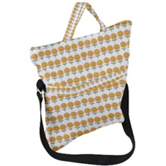 Sunflower Wrap Fold Over Handle Tote Bag by Mariart