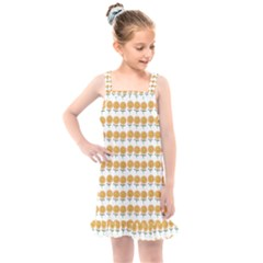 Sunflower Wrap Kids  Overall Dress by Mariart