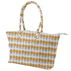 Sunflower Wrap Canvas Shoulder Bag