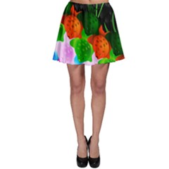 Pattern Fishes Escher Skater Skirt