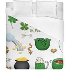 Saint Patricks Day Duvet Cover (california King Size) by AnjaniArt