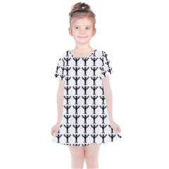 Strongman Background Gym Kids  Simple Cotton Dress