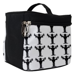 Strongman Background Gym Make Up Travel Bag (small)