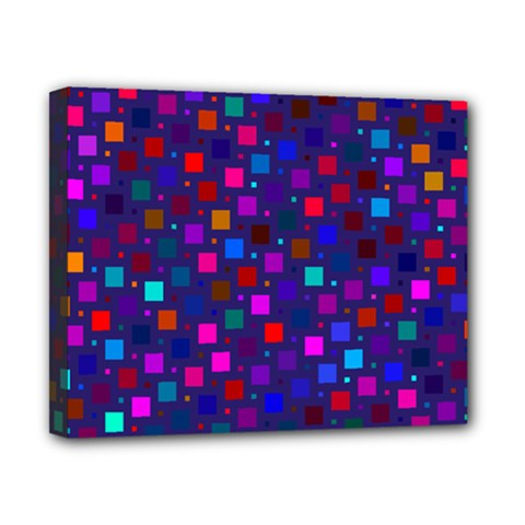 Squares Square Background Abstract Canvas 10  X 8  (stretched)
