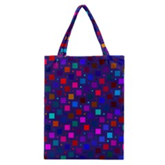 Squares Square Background Abstract Classic Tote Bag