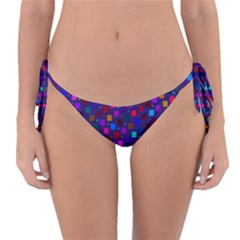 Squares Square Background Abstract Reversible Bikini Bottom