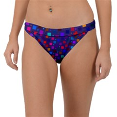 Squares Square Background Abstract Band Bikini Bottom
