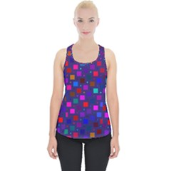 Squares Square Background Abstract Piece Up Tank Top by Alisyart