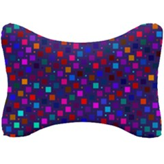 Squares Square Background Abstract Seat Head Rest Cushion