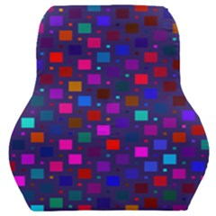 Squares Square Background Abstract Car Seat Back Cushion