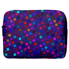 Squares Square Background Abstract Make Up Pouch (large)