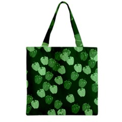 Seamless Paprica Grocery Tote Bag