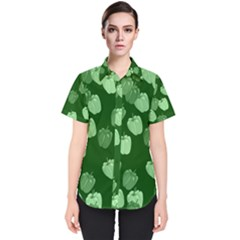 Seamless Paprica Women s Short Sleeve Shirt by Alisyart