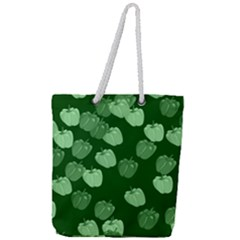 Seamless Paprica Full Print Rope Handle Tote (large)