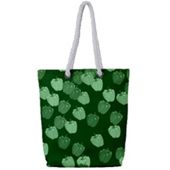 Seamless Paprica Full Print Rope Handle Tote (small)