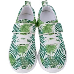 Green Tropical Leaves Women s Velcro Strap Shoes by goljakoff