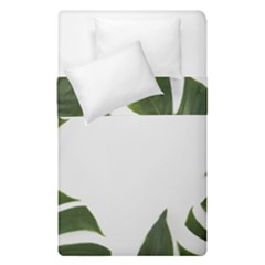 Green Leaves Duvet Cover Double Side (single Size) by goljakoff