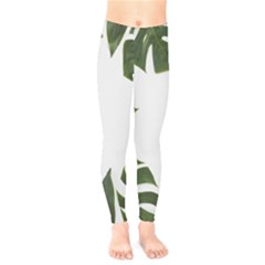 Green Leaves Kids  Legging by goljakoff