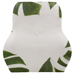 Green Leaves Car Seat Back Cushion  by goljakoff