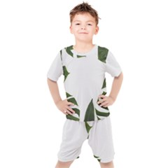 Green Leaves Kid s Set by goljakoff