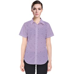 Simple Squares  Women s Short Sleeve Shirt