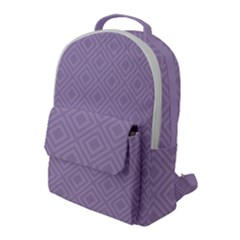 Simple Squares  Flap Pocket Backpack (large) by TimelessFashion