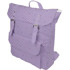 Simple Squares  Buckle Up Backpack by TimelessFashion