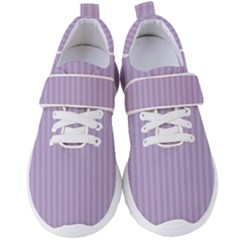Simple Stripes  Women s Velcro Strap Shoes by TimelessFashion