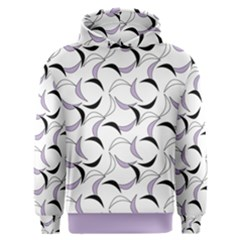 Simply Retro In Crocus Petal  Men s Overhead Hoodie by TimelessFashion