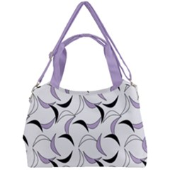 Simply Retro In Crocus Petal  Double Compartment Shoulder Bag