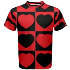 Royal Hearts Men s Cotton Tee