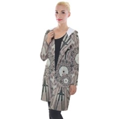 Digital Art Space Hooded Pocket Cardigan by Mariart