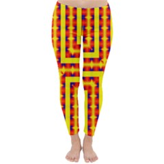 Digital Artwork Abstract Classic Winter Leggings