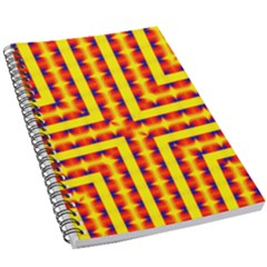Digital Artwork Abstract 5 5  X 8 5  Notebook by Mariart