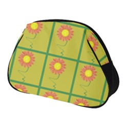 Sunflower Pattern Full Print Accessory Pouch (small)